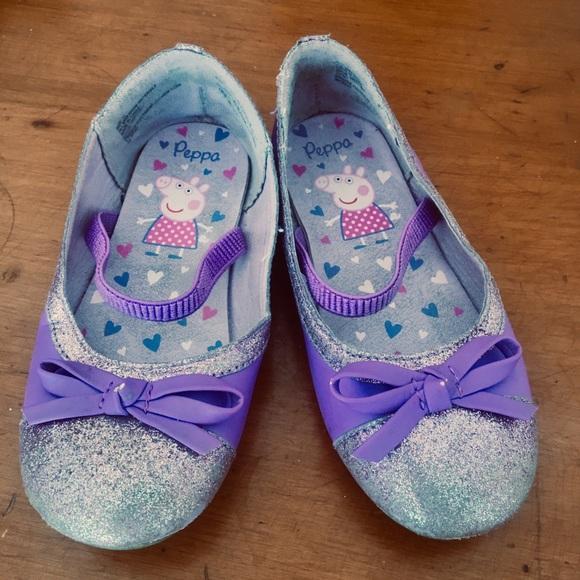 Other - Purple Peppa Pig ballet flats